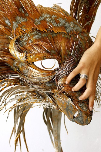 New Fiercely Powerful Metal Animal Sculptures by Seluk Yilmaz