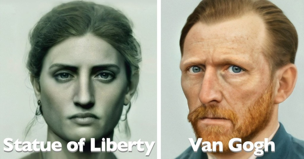 Artist Recreates How Iconic Figures From History Would Really Look in Real Life