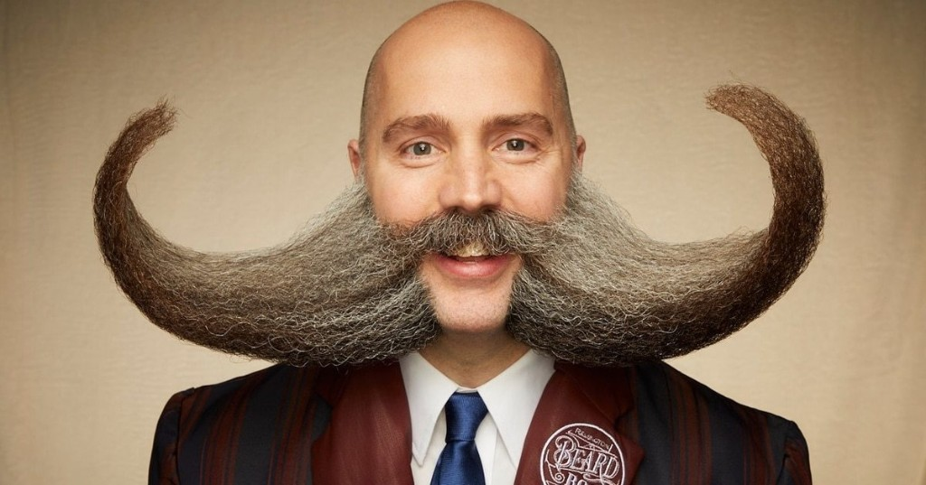Portraits of Men with the Most Creative Facial Hair at the 2019 Beard and Moustache Championships