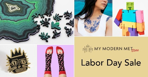 Labor Day Sale at My Modern Met Store: Save 15% on All Products