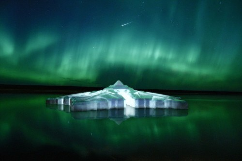 Floating Snowflake Hotel Will Offer Incredible Views of Aurora Borealis