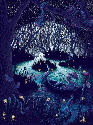 Beautifully Detailed Photoshop Paintings by James R Eads