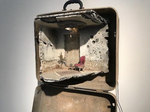 "Artists Rebuild Refugees' Emotional Memories of ""Home"" Inside Suitcases"