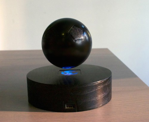 Innovative Bluetooth Speaker Floats in Mid-Air to Prevent Audio Distortion