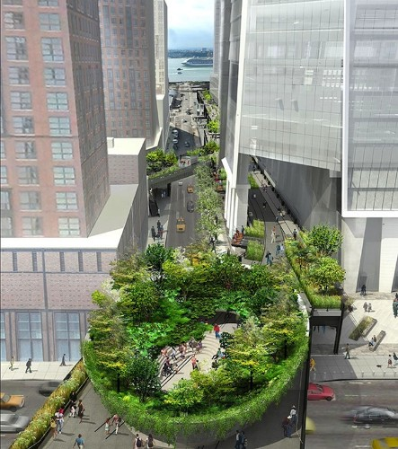 Rounded Forest Design Plans Revealed for NYC's the High Line