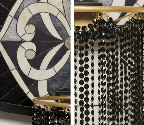 Basketball Backboards Given an Elegant Upgrade with Stained Glass and Jewels