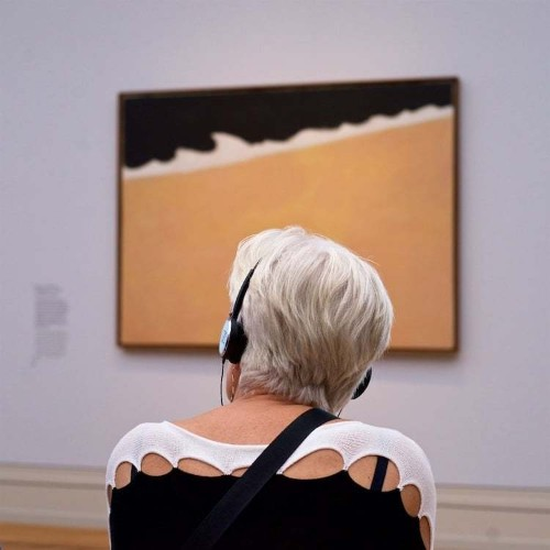 Photographer Quietly Captures Museum Goers Who Accidentally Match the Artwork