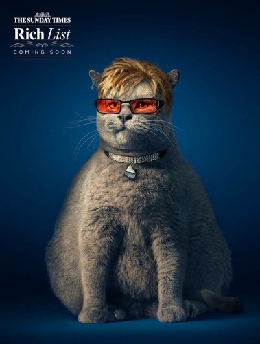 Photographer and Digital Artist Hilariously Morph Cats into Celebrities