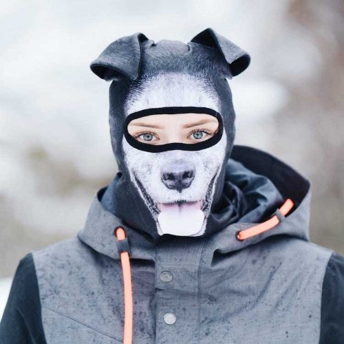 These Ultra Realistic Ski Masks Let You Become an Animal on the Slopes