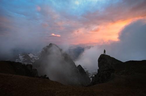Stunning Shots of Men Looking Over Breathtaking Landscapes