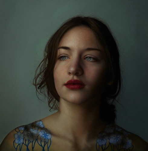 Hyperrealistic Paintings of Women with a Surreal Twist by Marco Grassi