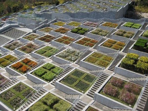 Mountainside Memorial Features 100 Blooming Gardens That Change with the Seasons