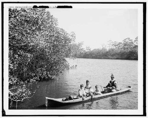 Dugout Canoe Washed Ashore by Hurricane Irma in Florida