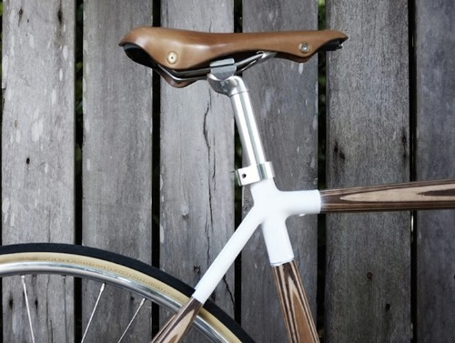 """Stylish """"PLYbike"""" Features Beautiful Frame Made from Wood"""