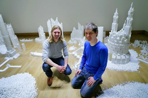 Communities Build Small Cities Using 500,000 Sugar Cubes