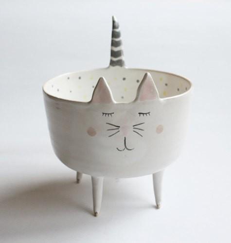 Adorable Animal Handmade Ceramics by Clay Opera