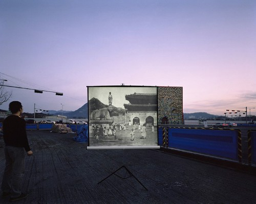 Arist Projects Historical Scenes on Modern Korean Landscapes