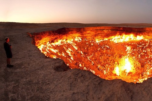 """Crater Burning for Over 40 Years is a """"Door to Hell"""""""