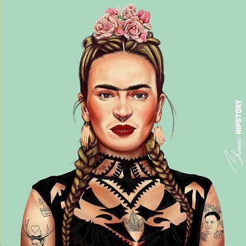 Illustrator Reimagines Iconic Artists as Modern-Day Hipsters