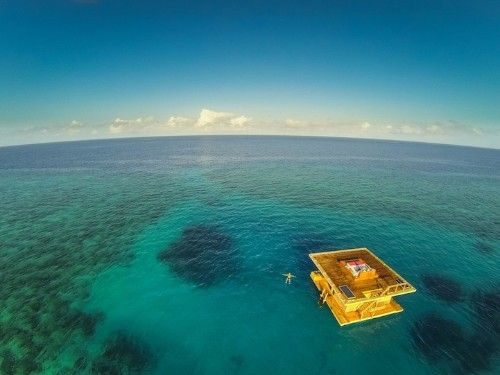 Africa's Multi-Level Floating Hotel with an Underwater Room