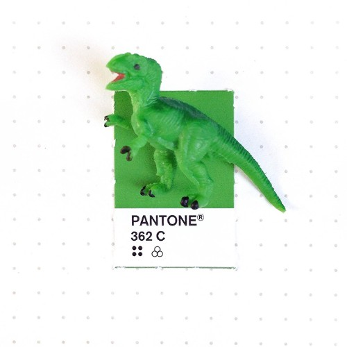 Tiny Objects Perfectly Paired with Matching Pantone Swatch