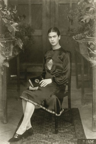 Rare Childhood Portraits of Frida Khalo Captured by Her Father