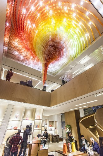 Do Ho Suh's New Swirling Chandelier of 42,000 Figures