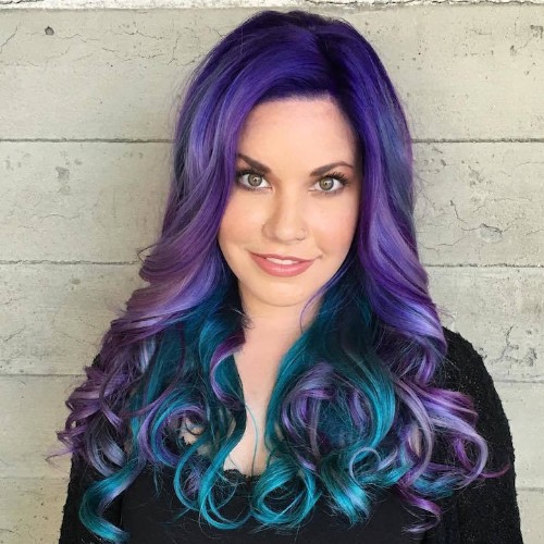"""""""Mermaid Hair"""" Trend Has Women Dyeing Their Hair Into Magical Sea-Inspired Masterpieces"""