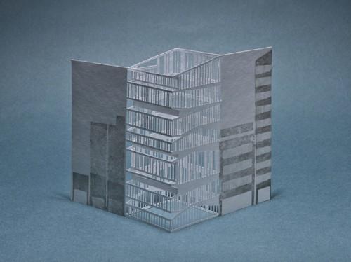 Laser-Cut Pop-Up Cards Beautifully Depict Landmarks of Tokyo