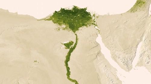 Interactive Map of Earth's Vegetation Rendered Through NASA Satellite