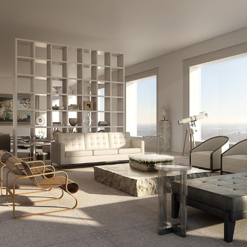$95-Million Penthouse Offers Breathtaking Views of New York City 1,396 Feet Above the Ground
