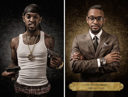 Which One is Real? Powerful Portraits Challenge Stereotypes