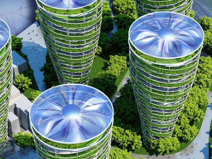 """Architect Designs Paris of 2050 as Eco-Friendly """"Smart City"""""""