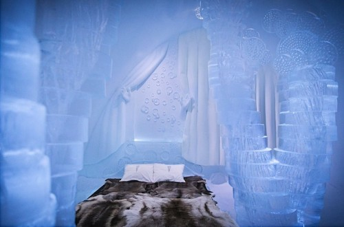 Sweden's 25th Icehotel Stuns with Enchanting Frozen Rooms