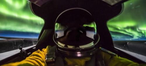 U-2 Spy Plane Pilot Captures Stunning Up-Close Photos of Northern Lights