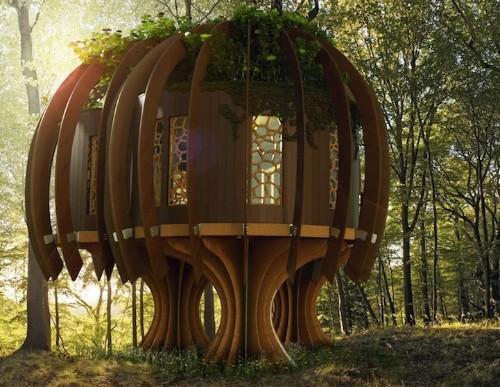 "Enchanting ""Quiet Treehouse"" is a Sound-Proof Sanctuary"