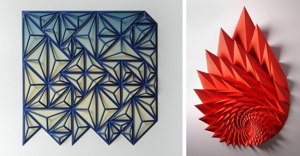 Amazing Engineer Transforms Ordinary Sheets of Paper into Tactile Tessellations