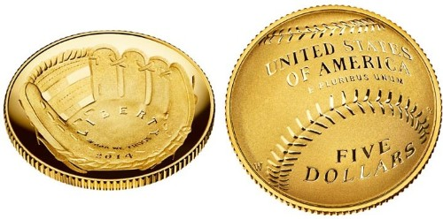US Mint Produces First Curved Coins to Honor Baseball