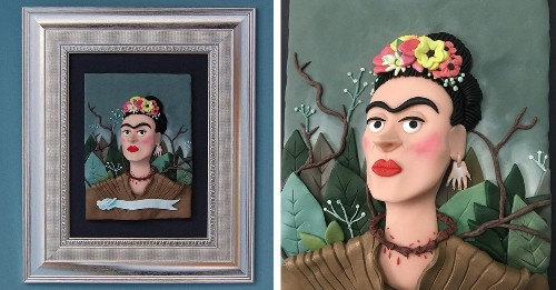 Artist Recreates World-Famous Masterpieces With Colorful Polymer Clay