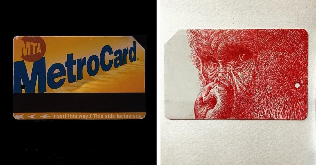 Artists Are Transforming Used NYC MetroCards into Miniature Works of Art