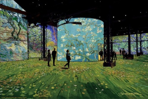 This Exhibit Gives Visitors the Experience of Stepping Inside Van Gogh's Paintings