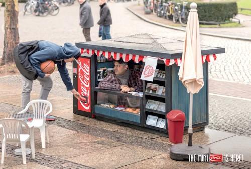 Hilarious Tiny Kiosks Sell Mini Coca-Cola Cans