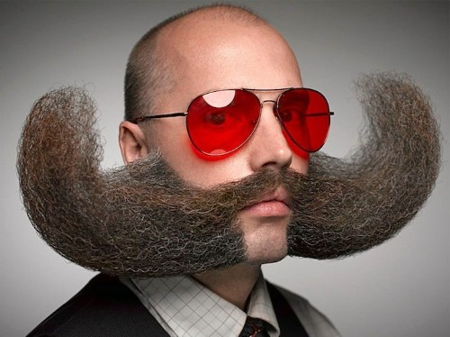 Amazing Facial Hair Designs from the 2014 World Beard and Moustache Championships