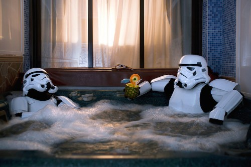 Secret Everyday Lives of Stormtroopers Reveal That They're Just like Us