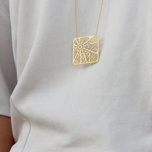 Map-Inspired Jewelry Offers a Beautifully Subtle Way to Honor Your Favorite Cities