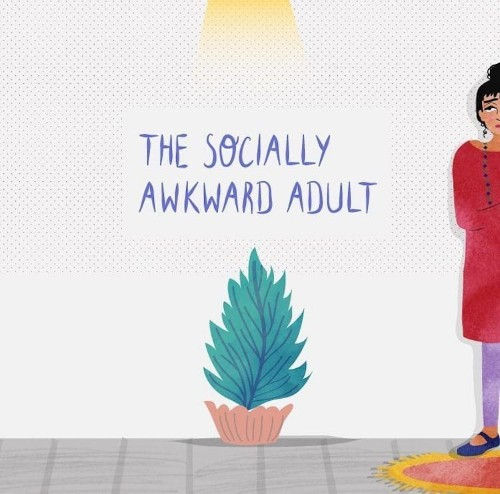 Illustrator Perfectly Captures What It's Like to Be a Socially Awkward Adult
