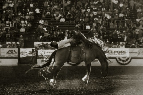 Photographer Mounts 88-Year-Old Kodak Lens on DSLR to Photograph a Rodeo