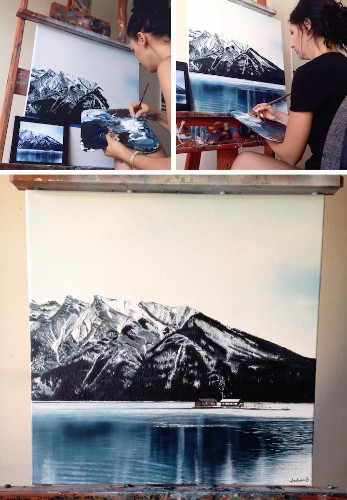 Self-Taught Artist Shares Stunning Process Behind Her Remarkable Paintings and Drawings