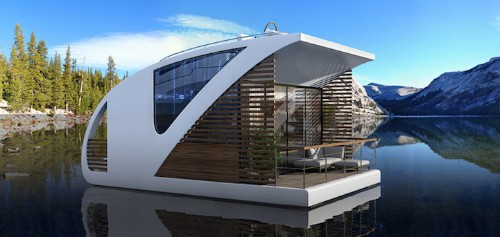 Floating Hotel and Catamaran Apartments Offer a Luxurious Private Getaway