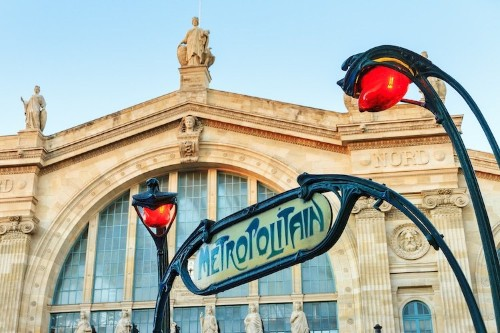 The Story Behind Paris' Iconic Art Nouveau Metro Entrances